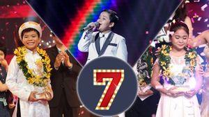 Thụy Bình và con số 7 'định mệnh' của Quán quân Giọng hát Việt nhí
