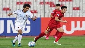 Bán kết U.19 chấu Á: Việt Nam vs Nhật Bản 0 - 3