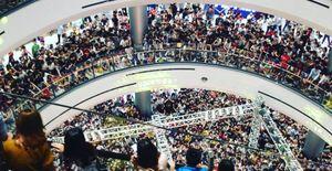 Không cần đến sao Hàn, Noo Phước Thịnh cũng đủ khiến Aeon Mall 'thất thủ' trong tối nay