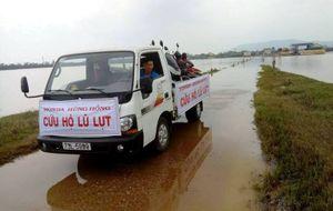 Honda Việt Nam chia sẻ với đồng bào lũ lụt miền Trung