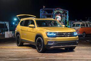 Cận cảnh Volkswagen Atlas 2018 hoàn toàn mới, đối thủ Toyota Highlander