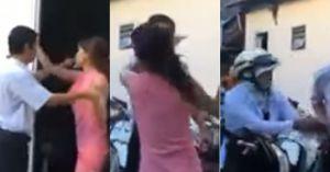 """Kết quả hình ảnh cho Ngược ngạo vợ già đi đánh ghen bị bồ trẻ đuổi đánh lại: """"Có chồng không giữ được thì tao giữ cho"""""""