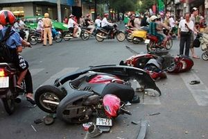 Trung bình mỗi ngày Tết có 31 người chết vì tai nạn giao thông