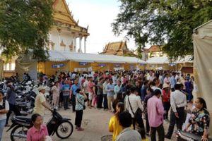 Người dân Campuchia tham gia tổng tuyển cử