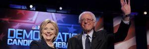 Bà Clinton đấu khẩu tay đôi với đối thủ