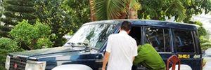 Giám đốc công ty quảng cáo bị đâm tử vong trên xe ô tô