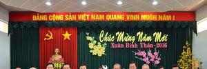 Chủ tịch nước Trương Tấn Sang, Chánh án TANDTC Trương Hòa Bình chúc Tết Đảng bộ và nhân dân tỉnh Long An