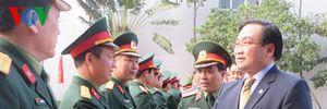 Ông Hoàng Trung Hải:Lực lượng vũ trang Thủ đô cần nhận thức rõ vai trò