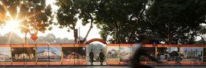 Hình ảnh Hà Nội ngập nắng vàng ngày cuối năm