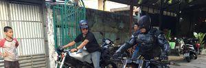 Biker Việt hóa thân thành Batman đón Tết