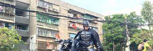 'Batman' xuất hiện giữa đường phố Sài thành
