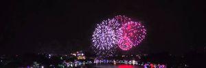 Những hình ảnh pháo hoa đẹp nhất đêm giao thừa