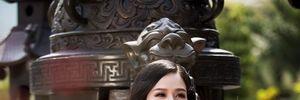 Nhật Kim Anh đẹp rạng rỡ dưới nắng xuân