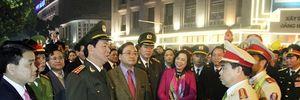 Lực lượng chức năng bảo đảm tốt an ninh, trật tự phục vụ nhân dân vui Xuân, đón Tết