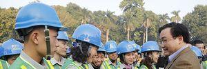 Đồng chí BÍ thư Thành ủy Hà Nội Hoàng Trung Hải thăm, chúc tết cán bộ, công nhân nhiều đơn vị