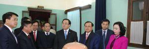 Tân Bí thư Hà Nội dâng hương tưởng nhớ Hồ Chủ tịch