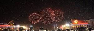 Triều Tiên bắn pháo hoa ăn mừng việc phóng vệ tinh