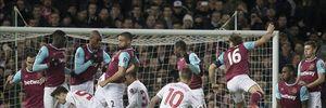 Thua West Ham sau 120 phút, Liverpool bị loại khỏi FA Cup