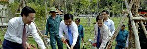 Bí thư Thành ủy Đinh La Thăng dự lễ đón nhận Bằng di tích Địa đạo Củ Chi
