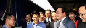 Bí thư Thành ủy Hà Nội thăm một số đơn vị trong ngày đầu làm việc sau tết