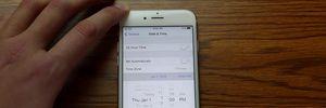 Cách sửa lỗi ngày tháng trên iPhone khiến máy thành 'cục gạch'