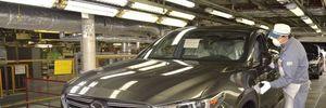 Mazda đã bắt đầu sản xuất CX-9, bán ra thị trường trong năm nay