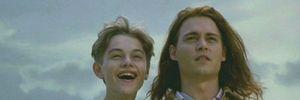 Johnny Depp hành hạ Leonardo DiCaprio trên trường quay