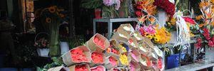 Hoa hồng Valentine đầy chợ Sài Gòn, vắng khách mua
