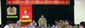 Thứ trưởng Bùi Văn Nam kiểm tra công tác đảm bảo ANTT tại Quảng Bình