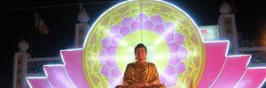 Tận mắt xem điệu múa Lục cúng hoa đăng nguyên bản Phật giáo