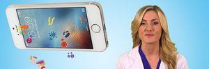Dùng smartphone có thể khiến da tổn thương