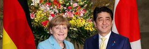 Trong bữa tối với Thủ tướng Đức: Ông Abe khéo léo từ chối gia nhập NATO