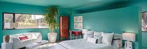 Phòng ngủ tuyệt đẹp với cây xanh