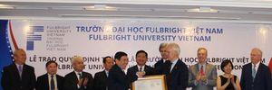 Ngoại trưởng Mỹ chứng kiến trao quyết định cho Đại học Fullbright