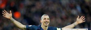 Ibrahimovic 'giật' áo số 9 của Martial tại M.U