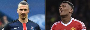 Ibrahimovic sẽ mặc áo số 9 của Anthony Martial