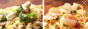 """""""Tan chảy"""" dạ dày với 4 cách chế biến Spaghetti"""