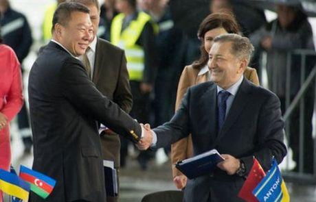 Trung Quoc mua may bay van tai moi An-178 Ukraina vua bay thu lan dau tien - Anh 2