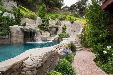 Bán đá xây hồ bơi tự nhiên