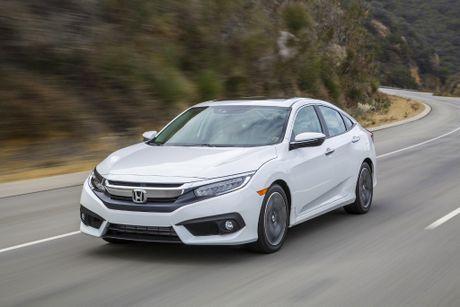 Honda Civic Sedan 2016 được bán với giá 19.475 USD