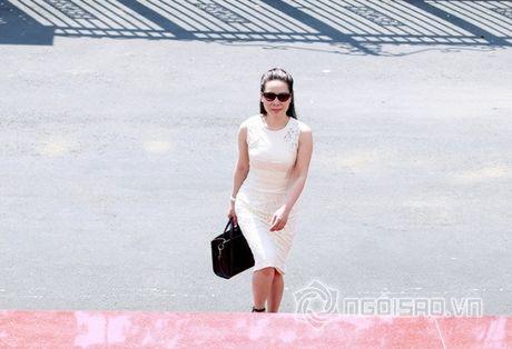 Nữ hoàng Doanh nhân Ngô Thị Kim Chi dep thanh lich di lam giam khao cuoc thi 'Net Dep Su Pham 2015' - Anh 4
