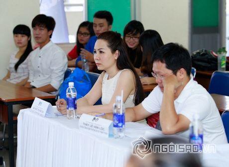 Nữ hoàng Doanh nhân Ngô Thị Kim Chi dep thanh lich di lam giam khao cuoc thi 'Net Dep Su Pham 2015' - Anh 8
