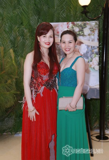 Nữ hoàng Doanh nhân Ngô Thị Kim Chi hoi ngo cung dan sao Viet tai su kien - Anh 3