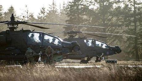 Trực thăng Mỹ hộ tống IS,bốc thủ lĩnh IS trốn khỏi Ramadi?