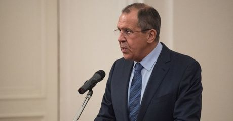 Bộ trưởng Ngoại giao Nga Sergei Lavrov. Ảnh Sputnik/Eugene Odinokov