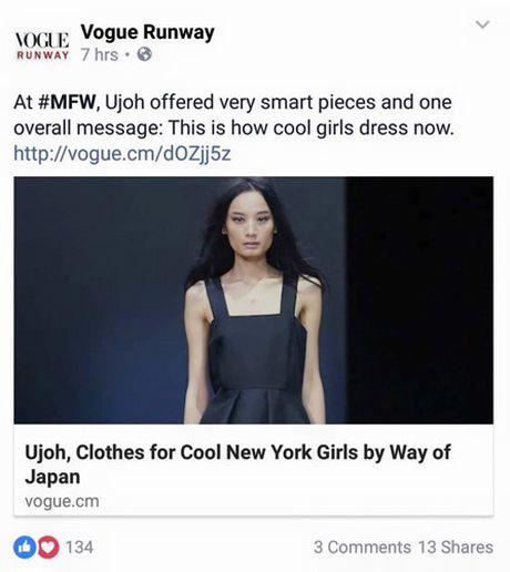 """Vì """"xấu lạ"""", Lê Thúy gây ấn tượng với biên tập viên của Vogue"""