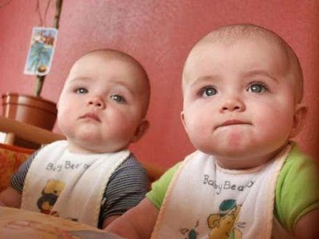Hi hữu những cặp sinh đôi nhưng khác cha
