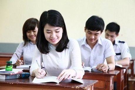 Nong: Bo GD&DT cong bo nhung thay doi quy che thi THPT 2016 - Anh 1