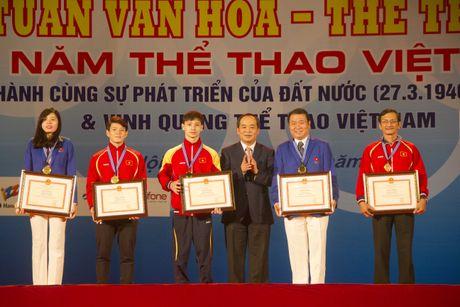 10 guong mat van dong vien tieu bieu Viet Nam duoc vinh danh - Anh 1