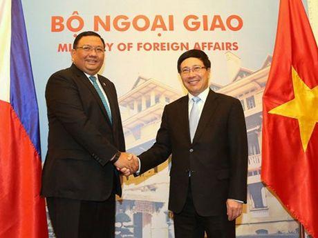 Viet Nam - Philippines nhan manh viec tuan thu luat phap quoc te o Bien Dong - Anh 1